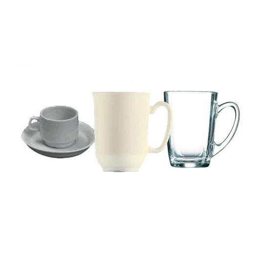 Mugs/Cups/Saucers