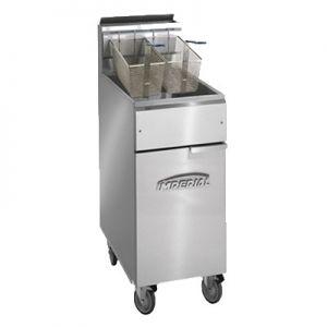Fryer, 40lb, Natural Gas, Open Pot