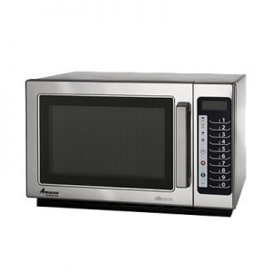 Microwave Oven, 1000w, 120v, 1.2ft³, Push Button