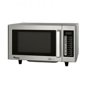 Microwave Oven, 1000w, 120v, 0.8ft³, Push Button