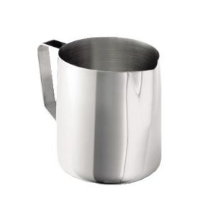 Frothing Cup, 12-14oz, Stainless Steel