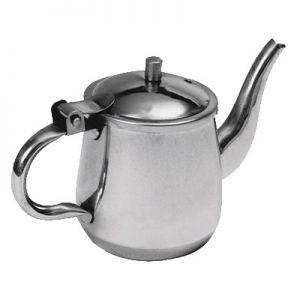 Teapot, Gooseneck, 10oz, Stainless Steel