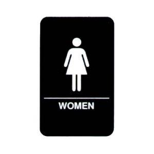 """Sign, """"Women"""", 6""""x9"""""""