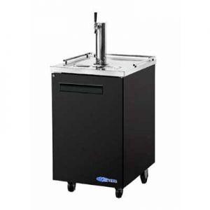 """Beer Dispenser, 24"""", 1-Keg, 1x Solid Door"""