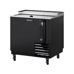 "Bottle Cooler, 36"", 8ft³, Black"