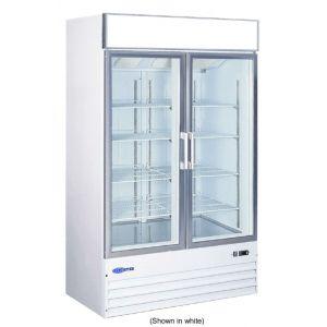 """Merchandiser Freezer, 49"""", 2x Glass Swing Door"""