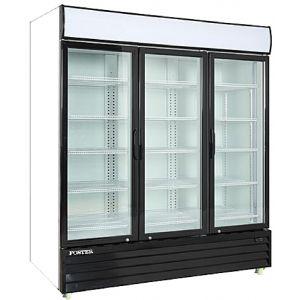 """Merchandiser Cooler, 67"""", 3x Swing Glass Door"""