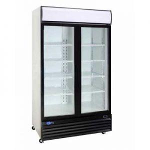 """Merchandiser Cooler, 52½"""", 2x Sliding Glass Door"""