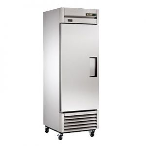 "Freezer, 27"", 1x Solid Door, 23ft³, LH, S/S"