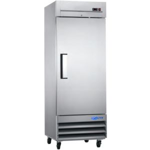 "Freezer, 29"", 1x Solid Door, Stainless Steel"