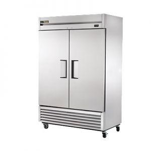 """Cooler, 54"""", 2x Solid Door, 49ft³, Stainless Steel"""