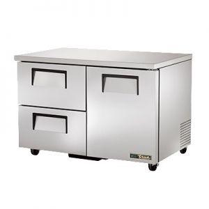 """Cooler, 48"""", UC, 1x Door, 2x Drawer, 2 Section,S/S"""