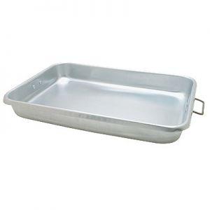 "Roast Pan, 18""x12""x 2¼"", Wire Handles, Aluminum"