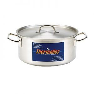 """Pan, Brazier, 30qt, 19½"""", Stainless Steel"""