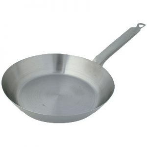 """Fry Pan, 10¾"""", French Steel, w/ Handle"""