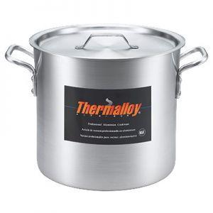"""Stock Pot, 24qt, 12½"""", Aluminum"""