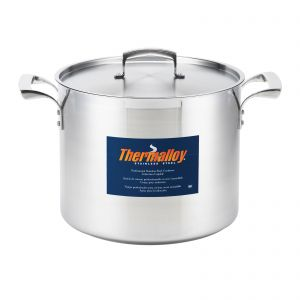 """Stock Pot, 20qt, 12½"""", Stainless Steel"""