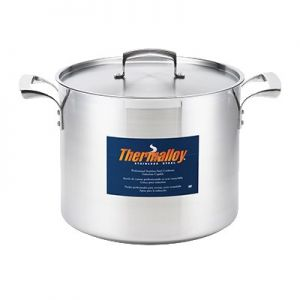 """Stock Pot, 40qt, 17¾"""", Stainless Steel"""