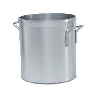 Stock Pot, 25qt, Aluminum, Heavy Duty
