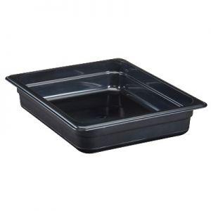 "Food Pan, 1/2 Size, 2½"", High Heat, Amber"