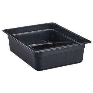 "Food Pan, 1/2 Size, 4"" Deep, High Heat, Amber"