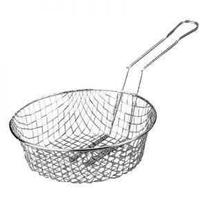 "Culinary Basket, 8""x3"", 9¾"" Handle, Fine Mesh"