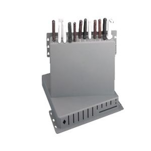 "Knife Rack, 15""x16""x3"", holds 12 Knives, 1 Cleaver"