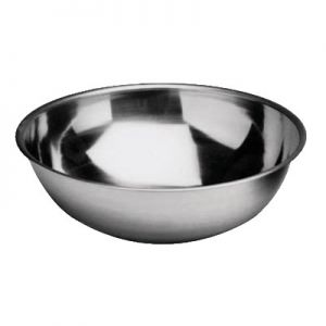 """Mixing Bowl, 4qt, 10-3/8"""", Stainless Steel"""