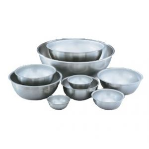 Mixing Bowl, 8qt, Heavy Duty, Stainless Steel
