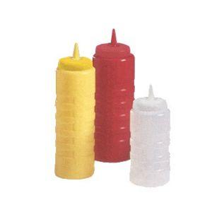 Squeeze Bottle, 32oz, Yellow Bottle/Cap