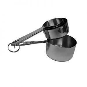 Measuring Cup Set, 4-Piece: 1/4, 1/3, 1/2, & 1cup
