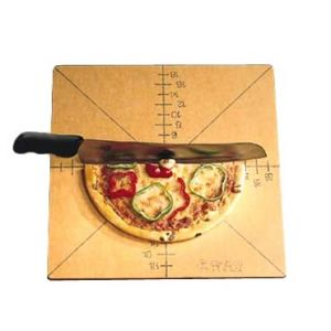 """Cutting Board/Guide, Pizza, 20"""" Square, 8-Slice"""