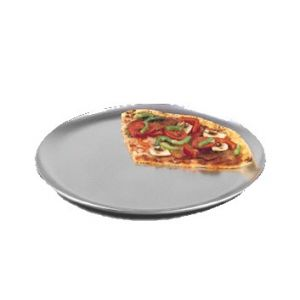 "Pizza Pan, 17"", Coupe Style, Solid, Aluminum"