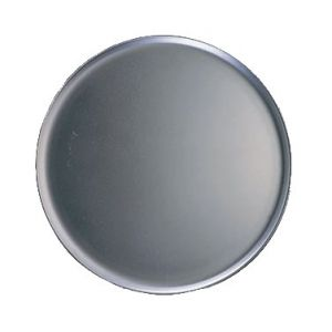 "Pizza Pan, 11"", Coupe Style, Solid, Heavy Aluminum"