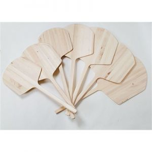 "Pizza Peel, 14""x16"", 42"" Handle, Tapered Wood"