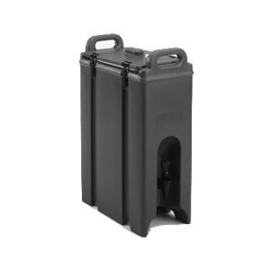 Beverage Carrier, 4¾gal, Insulated, Black