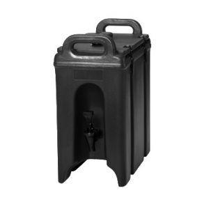 Beverage Carrier, 2½gal, Insulated, Black