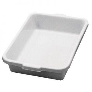 "Tote Box, 22""x15¾""x5¼"", Heavy Duty,Polyethylene,GY"