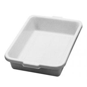 "Tote Box, 22""x15¾""x5¼"", Heavy Duty,Polyethylene,WH"
