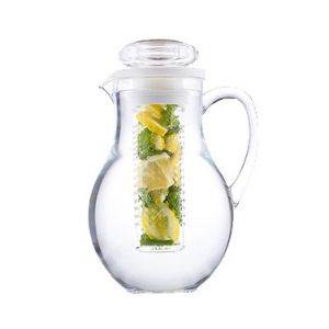 Pitcher, 64oz, w/ Infuser Tube, Polycarbonate