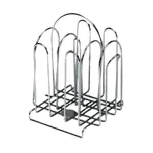 Condiment Rack, 48-Packet, Chrome Plated Wire