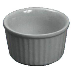 Butter Dish/Ramekin, 5oz, Ceramic, White