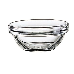 """Bowl, 1¼oz, 2-1/3"""" Round, Stackable, Glass"""
