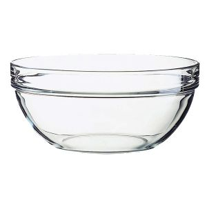 Bowl, 94oz, Stackable, Glass