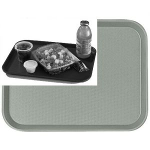 "Tray, Fast Food, 14""x18"", Gray"