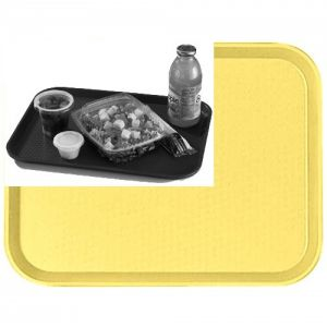 "Tray, Fast Food, 10""x14"", Yellow"