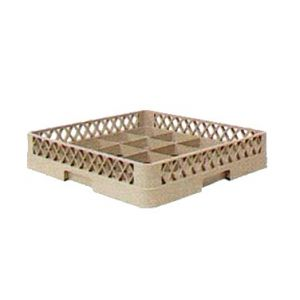 Cup Rack, 16-Compartment, Beige