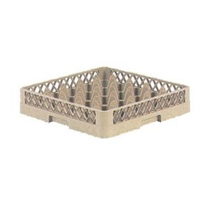 Glass Rack, 25-Compartment, Beige