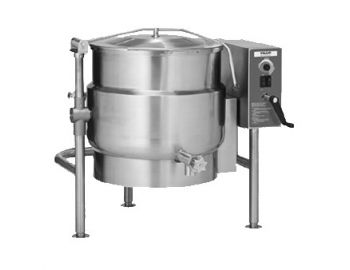 Kettle, Tilting, 40gal, Electric, Ellipsoidal